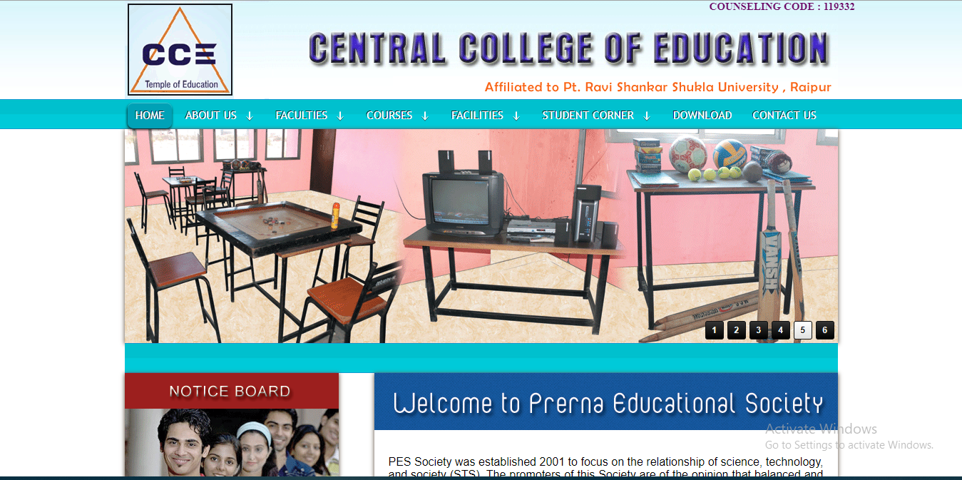 Central College of Education Raipur